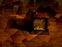 45 fragments in time (thescatteredimage) Tags: brown clock time canon20d montage photomontage hockney scattered hockneyish hockneyesque 1785mmis 29july07