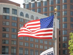 American Flag at Milwaukee