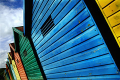 Rainbow Huts - by The 5th Ape