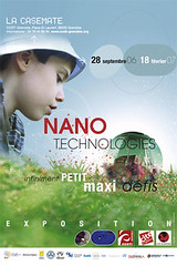 Affiche expo NANO à la Casemate