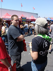 Oxfam volunteer at Warped San Diego