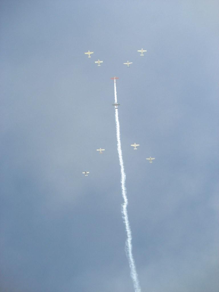 Flyover at Burning Man 2007