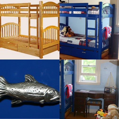 Boy's Room Collage