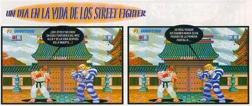 Un día en la vida de los Street Fighter