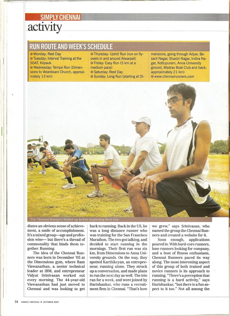 Chennai Runners in India Today - page 2