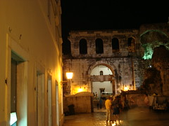 Old City at Night