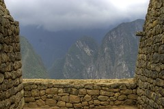 Machu Picchu: View of the Andes
