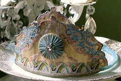 My Birthday Crown (vintagefaerie) Tags: blue glitter princess royal queen crowns neutral vintagewallpaper