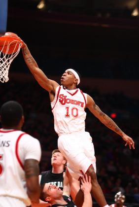 Roberts dunk vs Notre Dame