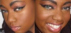 bronze (SweetTooth Makeup) Tags: shadow black eye beautiful bronze eyes pretty african creative makeup lips american copper mascara cosmetics eyeshadow lipgloss bold eyeliner sweettoothmakeup