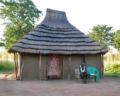 Maker Makur Outside His Hut (emorgan49) Tags: south sudan dinka yirol