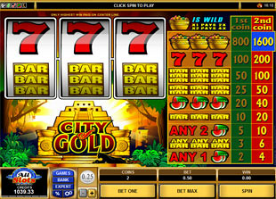 City of Gold slot game online review