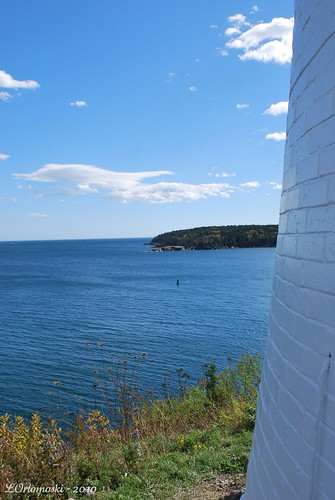 View from Owls Head Lighthouse