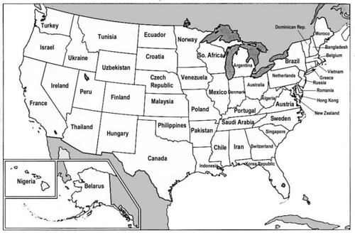 US States Renamed For Countries With Similar GDPs