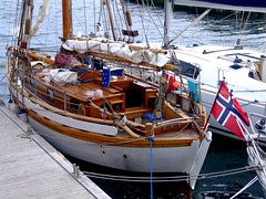 """Colin Archer Yacht Fonix (nz_willowherb) Tags: see scotland boat flickr tour yacht traditional vessel visit shetland colinarcher to"""" """"go fonix visitshetland seeshetland goptoshetland visitlerwick gotolerwick seelerwick"""