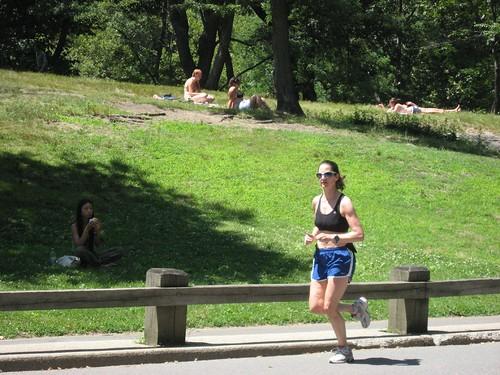 Running.. in Central Park