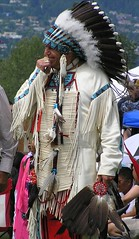 Chief (jelee_unleashed) Tags: people culture firstnations nativeindian squamishpowwow