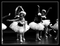 Little Beautiful Ballerinas (Chicago Love) Tags: girls bw kids children blackwhite dance ballerina texas performance houston recital twinkletoes blackwhitephotos abigfave flickrgold anawesomeshot aplusphoto superhearts blackribbonbeauty chicagolove niosydetalles