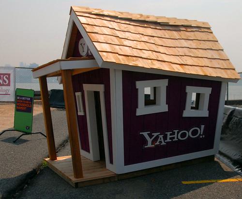 La casa de Yahoo