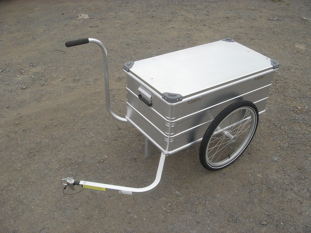 Decorators bicycle trailer