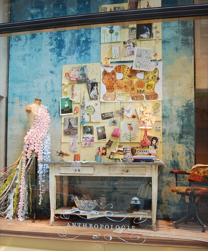 anthropologie window display