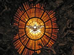 Veni Sancte Spiritus (Lawrence OP) Tags: vatican stpeters rome glory basilica bernini alabaster holyspirit