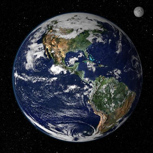 La tierra desde el espacio imperdible  Taringa