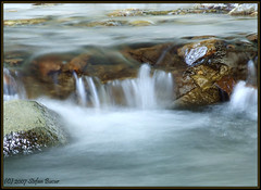 Water Clothing (Stefan Bucur) Tags: blur nature water stone s5200 fujifilm exposed