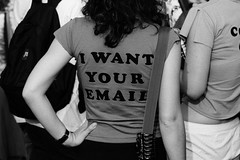 I WANT YOUR EMAIL