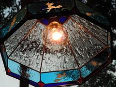 三鷹の森ジブリ美術館 カフェ麦わらぼうし ランプシェード