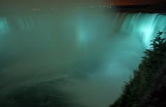 Horseshoe Falls at Night (douglas.earl) Tags: blue nature water night niagarafalls waterfall horseshoefalls