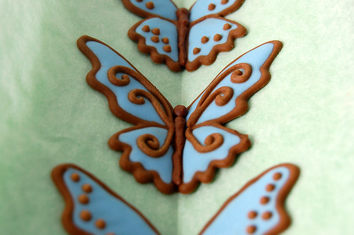 Royal Icing Butterflies