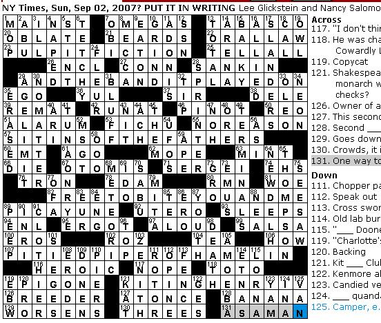 Rex Parker Does the NYT Crossword Puzzle: SUNDAY, Sep  2