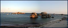tregastel le port (panoramique)
