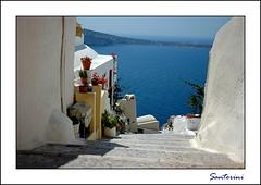 Card #2 (marina.shakleina) Tags: blue sea creta santorini greece crete oia aplusphoto   leuropepittoresque