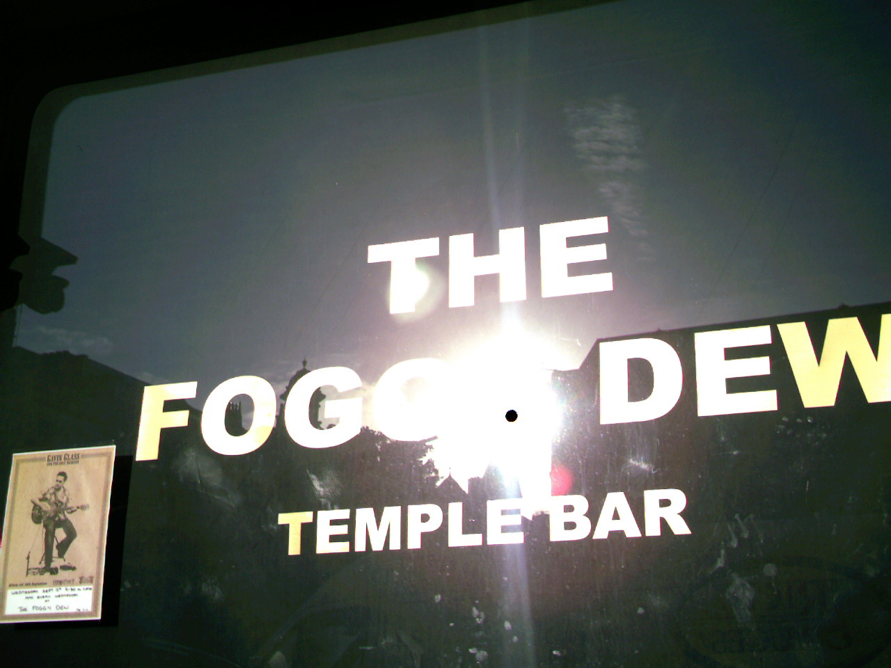 The Foggy Dew Bar, Templebar