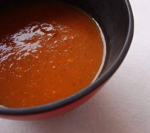 Soupe (Très Light) Tomates et Courgettes