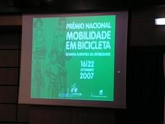 Prémio Nacional Mobilidade em Bicicleta da FPCUB 2007