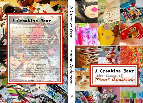A Creative Year with iHanna - the whole cover