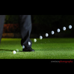 Day Seventy (Erwin Co Photography) Tags: spin flight sb600 pitch 365 golfball sb800 d90 pitchingwedge 70200mmf28