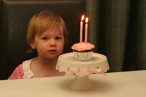 adorable little birthday girl