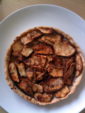 Mini Apple Pie, with the leftover dough/apples