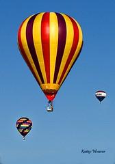 Thurston Classic Balloons (kweaver2) Tags: pennsylvania hotairballoons meadville thurstonclassic olympuse520 kathyweaver allegenycollege