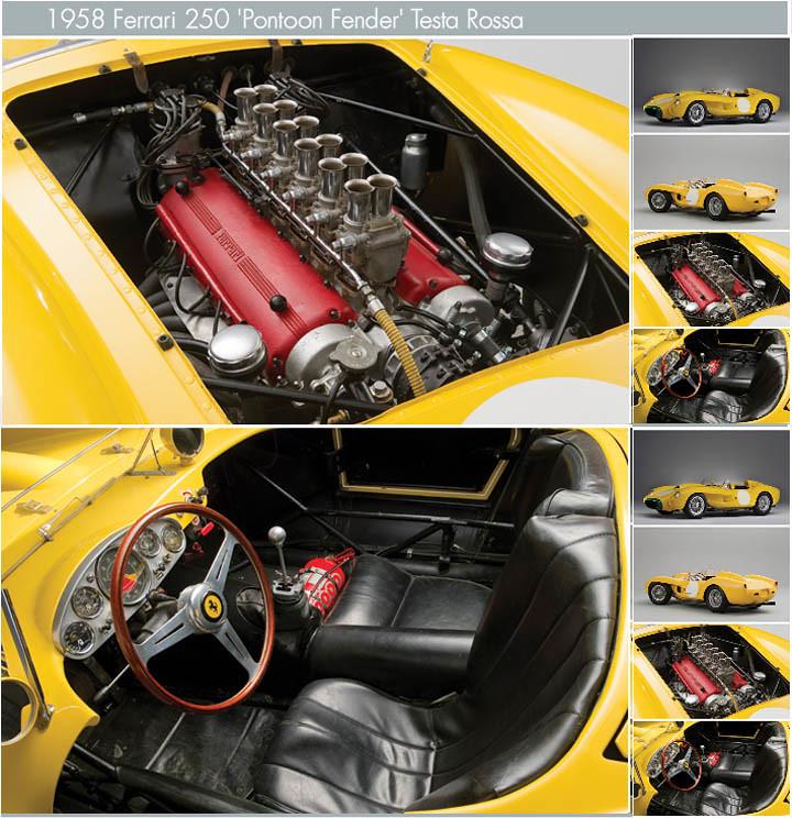 Ferrari 250 Testa Pontoon Fender Rossa 1958 #2