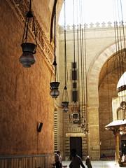 Masjid of Sultan Hassan     / Cairo / Egypt - 28 05 2010 (Ahmed Al.Badawy) Tags: architecture shots 05 egypt cairo sultan hassan 28 ahmed masjid islamic 2010   mamluk   albadawy hutect