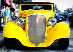 curbside (AceOBase) Tags: light yellow canon photography classiccar shadows smooth icon headlights grill hotrod streetrod goodtimes topaz coolcar kustom slammin worldcars hangingoutwiththefamily alltypesoftransport photoartbloggroup certifiedcarcrazy 1sweetride
