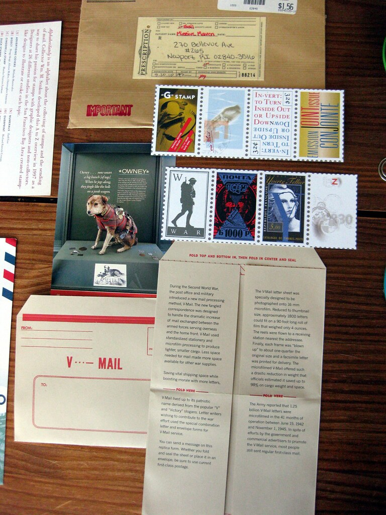 Paper goodies + v-mail reproduction