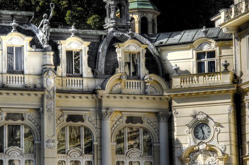 Pupp Hotel. Karlovy Vary. Hotel Pupp