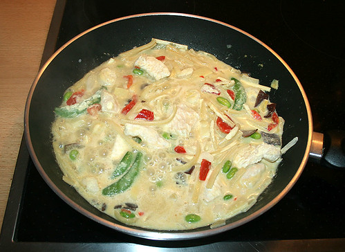 05 - Frosta Thai Green Curry - erhitzen