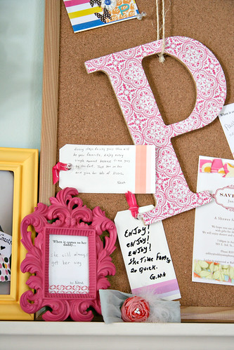 Sweet P's Nursery - Cork Board